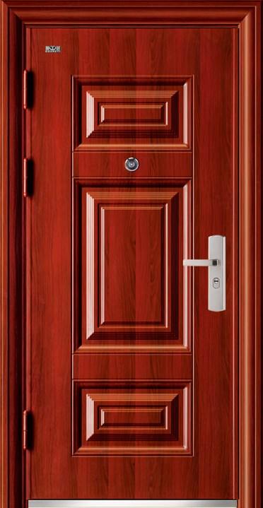cửa thép vân gỗ ra vào