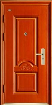 cửa thép vân gỗ, cua thep van go, cua thep van go ra vao