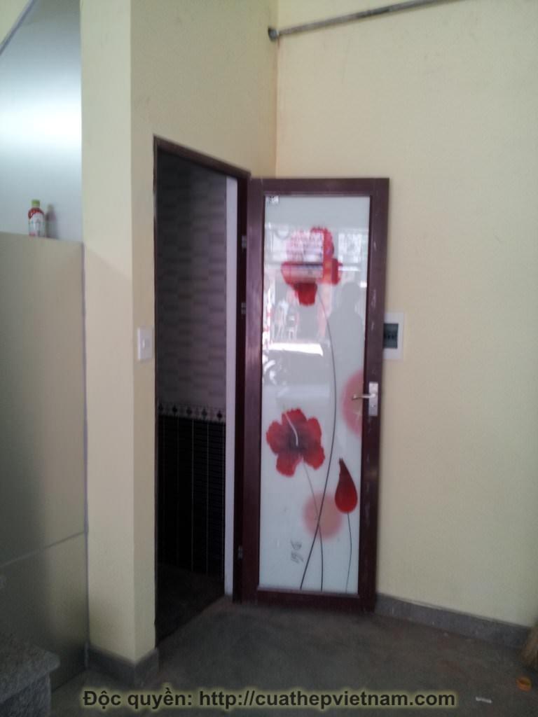 cửa thép vân gỗ Nguyễn An Ninh