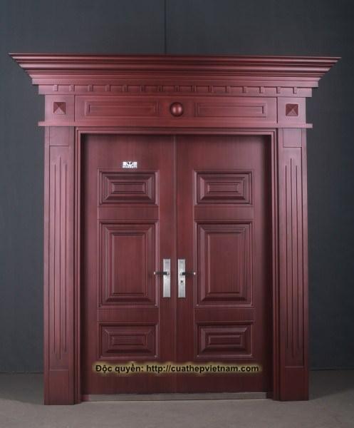 cửa thép giả đồng, cửa roman giả đồng, cửa đồng, cửa biệt thự