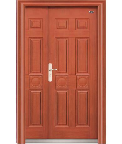 Cửa cánh lệch, cửa mẹ con, cửa cánh to cánh nhỏ, cửa chung cư, cửa căn hộ chung cư, cửa thép vân gỗ cánh lệch